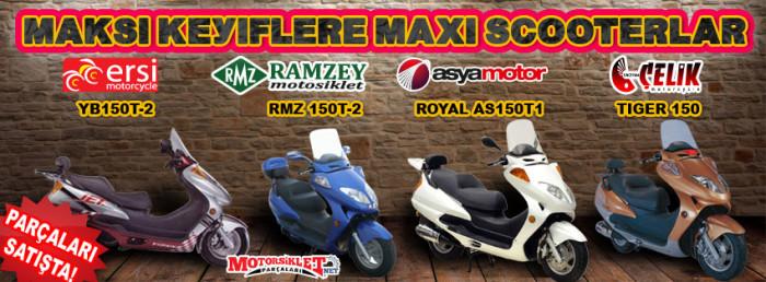 maxi scooterlar